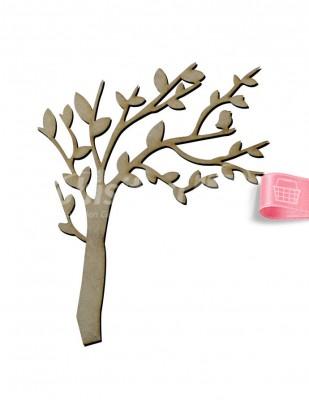 - Ahşap Ağaç - 15 cm - KM12T