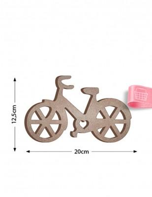 - Ahşap Bisiklet Figürü - Kalınlık 18 mm - KF26T