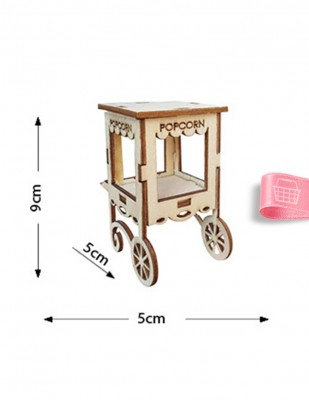 - Ahşap Minyatür - Mısır Arabası - KMY41T