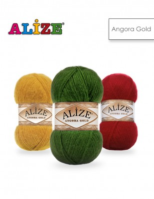 Alize - Alize Angora Gold El Örgü İplikleri