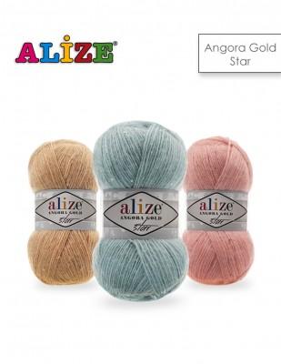 Alize - Alize Angora Gold Star El Örgü İplikleri