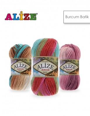 Alize - Alize Burcum Batik El Örgü İplikleri