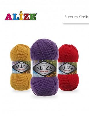 Alize - Alize Burcum Klasik El Örgü İplikleri