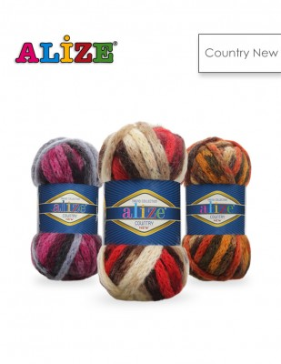 Alize - Alize Country New El Örgü İplikleri