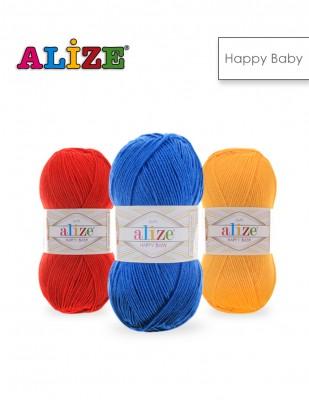 Alize - Alize Happy Baby El Örgü İplikleri