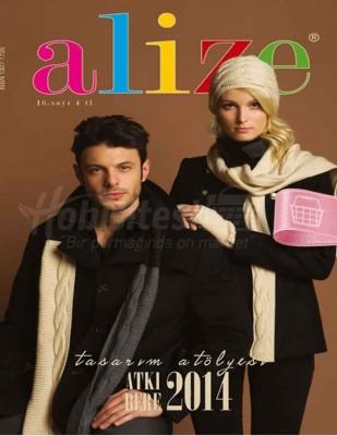 Alize - Alize Örgü Dergisi - Atkı / Bere 2014 - Sayı 16