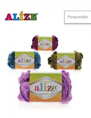 Alize - Alize Ponponella El Örgü İplikleri