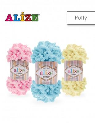 - Alize Puffy El Örgü İplikleri