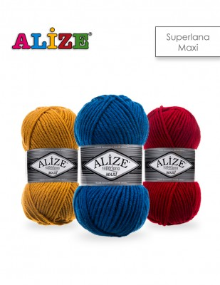 Alize - Alize Superlana Maxi El Örgü İplikleri