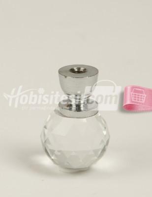 - Cam Kristal Ayak - Gümüş - Ç: 2 cm Y: 3 cm