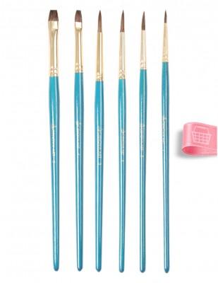 CENOVA - Cenova Fırça Seti - Set 20 - Karma 6 lı (1)
