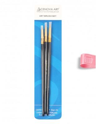 CENOVA - Cenova Fırça Seti - Set 23 - Karma 3 lü