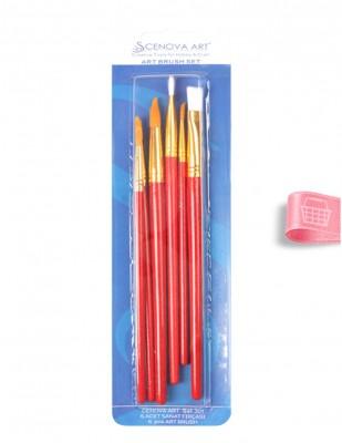 CENOVA - Cenova Fırça Seti - Set 301 - Karma 6 lı