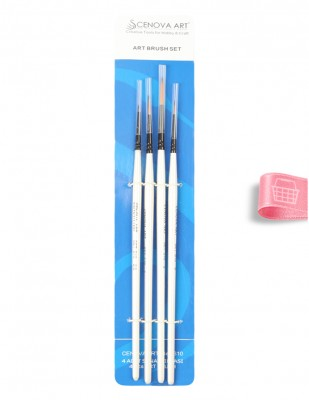 CENOVA - Cenova Fırça Seti - Set S10 - Karma 4 lü