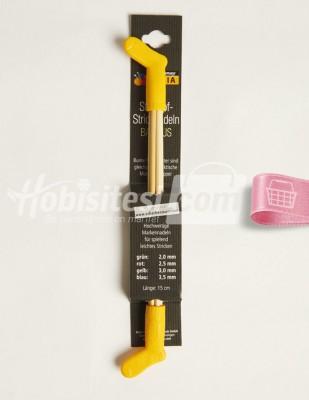 - Çorap Şişleri - Bambu - 15 cm - 3 mm
