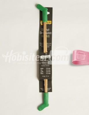 - Çorap Şişleri - Bambu - 20 cm - 2mm