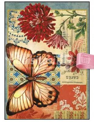 - Dekupaj Kağıdı - 35 x 45 cm Takribi - DP177