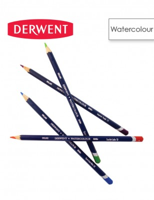 DERWENT - Derwent Watercolor Suluboya Kalemi - 72 Farklı Renk