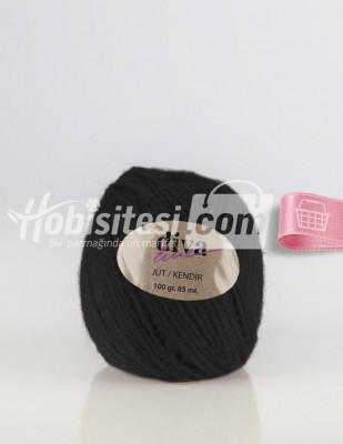 - Diva Line Jüt İp - Siyah - 100 Gr - 85 m