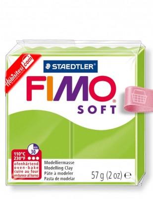FIMO - Fimo Soft Polimer Kil - Hamur - 50 Apple Green - 57 gr