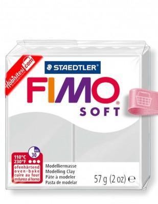 FIMO - Fimo Soft Polimer Kil - Hamur - 80 Dolphin Gray - 57 gr