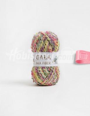 - Gala Mıx Fiber El Örgü İplikleri - 16 - 100 gr