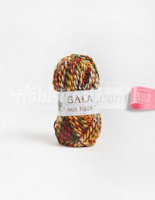 - Gala Mıx Fiber El Örgü İplikleri - 9 - 100 gr