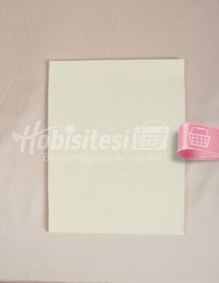 - Karin Ebru Kağıdı - 25 x 35 cm - Krem - 100 Adet
