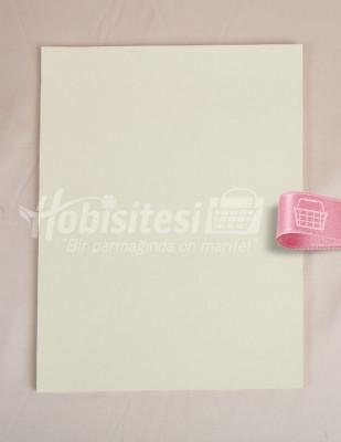 - Karin Ebru Kağıdı - 35 x 50 cm - Krem - 100 Adet