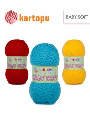 Kartopu - Kartopu Bebe Soft El Örgü İplikleri