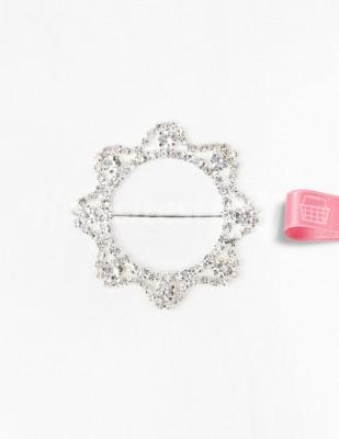 - Kemer Tokası - Taşlı - Yıldız - Çap 6,5 cm