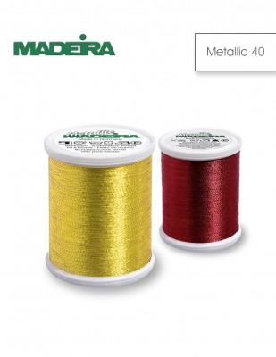 - Madeira Makina Nakış Simi - Metallic 40 - 1000 m