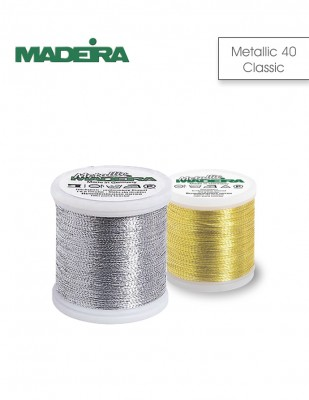 Madeira - Madeira Makina Nakış Simi - Metallic 40 Classic - 200 m