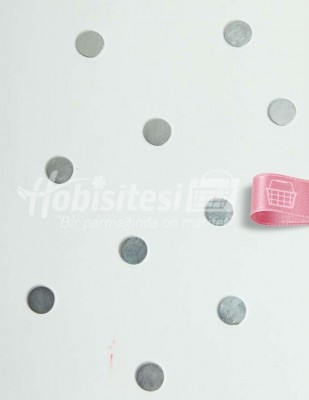 - Magnet / Mıknatıs - Gümüş - Ç: 13 mm - 10 Adet