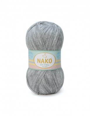 NAKO - Nako Elit Baby Muare El Örgü İpliği (1)