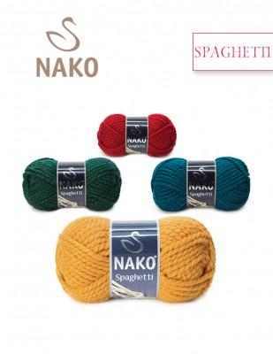 Nako - Nako Spaghetti El Örgü İpliği