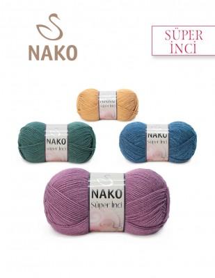 Nako - Nako Süper İnci El Örgü İpliği