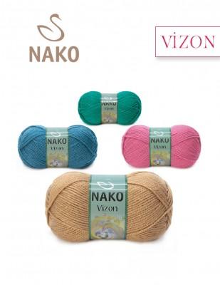 Nako - Nako Vizon El Örgü İpliği