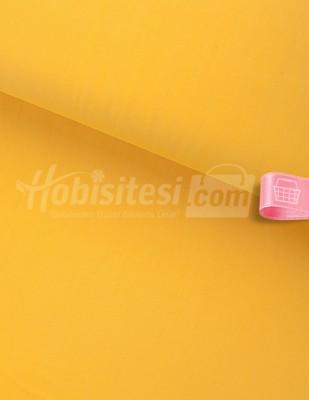 - Nevresimlik Düz Akfil - Limon Sarısı - En 240 cm