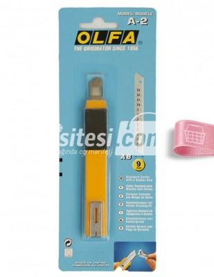 OLFA - Olfa Maket Bıçağı - A2 - 9 mm