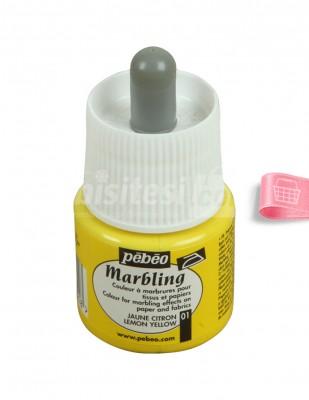 PEBEO - Pebeo Marbling Damlalıklı Ebru Boyası - 45 ml (1)