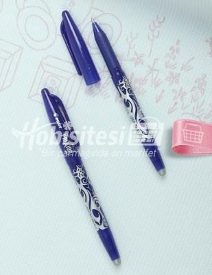 PİLOT - Pilot Frixion Silinebilir Tekstil Kalemi - Mavi