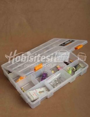 - Plastik Saklama Kapları - 23 x 31 x 5 cm