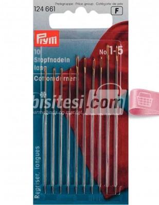 Prym - Prym Örme İğnesi - Uzun - 10 Adet - No 1 - 5 - 124661