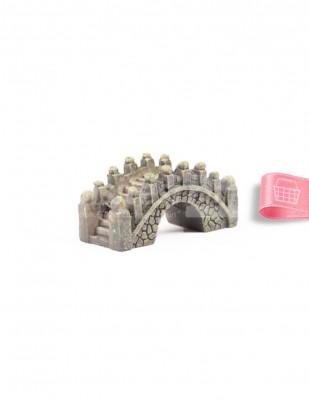 - Teraryum Malzemesi - Köprü - Gri - 5 x 2 cm - HS013