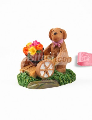 - Teraryum Malzemesi - Sevimli Köpek - 5 x 5 cm - 670
