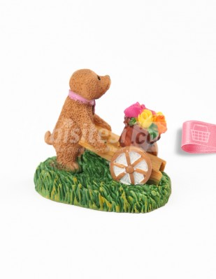 - Teraryum Malzemesi - Sevimli Köpek - 5 x 5 cm - 670 (1)