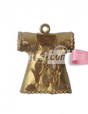 - Tespih İmamesi - Kaftan - Altın - 2 x 2,5 cm