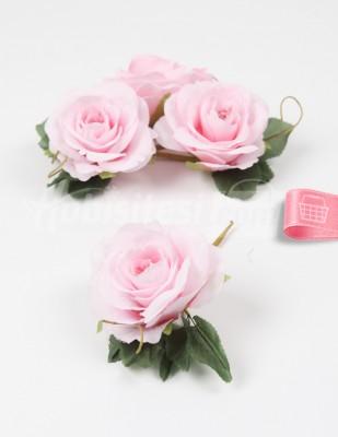 - Yapay Çiçek - Bebe Pembe - 5 cm - 4 Adet / Paket