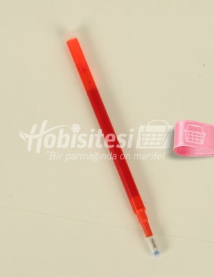 - Yedek Uç - Tekstil Kalemi İçin - Kırmızı